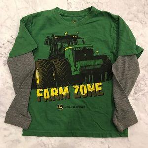 John Deere Thermal Sleeve Farm Zone Shirt